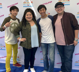 Barbizon Socal alum actor Christian Alexander Cruz attended the Mattel Party on the Pier to raise money for the UCLA Mattel Children's Hospital