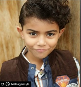 Barbizon Socal grad Anthony Wahba booked a guest star role on a major CBS drama filming in New York