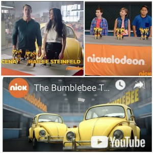 Barbizon Socal grad Gabriel Angelo Lajato booked a Bumblebee Toy Challenge Commercial promoting the new Nickelodeon movie Bumblebee