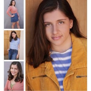 collage of headshot and body shots of Isabella Castro