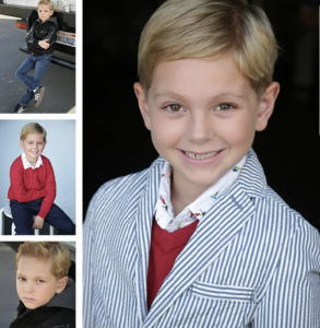 Barbizon Socal grad Jackson Rappa signed with Youth Talent Connection Talent Agency