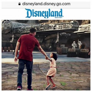 Barbizon Socal grad Jazlynne Layla booked a campaign for Disneyland's Star Wars : Galaxy Edge