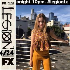 Barbizon Socal grad Jena Allen was in the debut of season 2 of Legion on FX