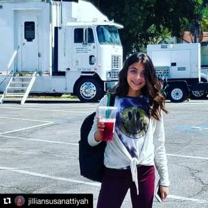 Barbizon Socal grad Jillian Attiyah filmed on set for a feature film