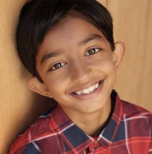 headshot of Kishan Patel