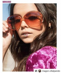 Barbizon Socal grad Magon Villalpando booked a photo shoot for Coco Fashion Magazine
