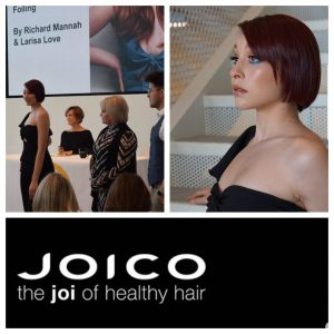 Neveah in the Joico hair show