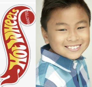 Barbizon Socal grad Trevor Lay booked a commercial for Hot Wheels