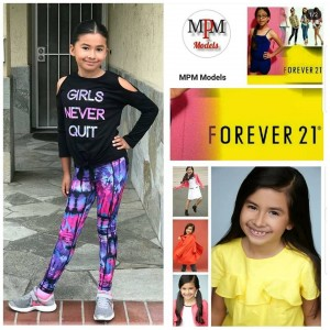 Barbizon Socal grad Victoria Rosales booked a Forever 21 fit model job