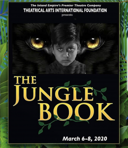 Promotional Poster of the Jungle Book featuring Vyom