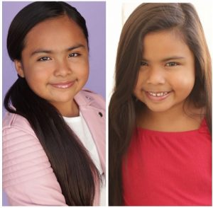 heads shots of Shirel and Grace