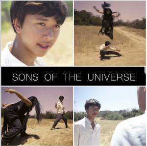 Barbizon Socal graduate Christian Alexander Crus stars in the Sons of the Universe webseries