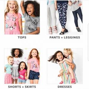 Barbizon Socal graduate Jazlynne Williams booked a print campaign for Carter's girls clothing line