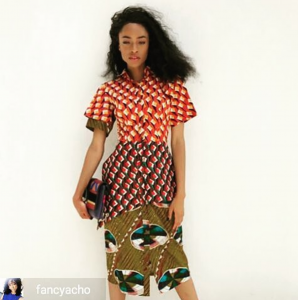 Barbizon Socal instructor and grad Miss Fancy modeled in Lagos, Nigeria. She is signed with NEXT Model Management Los Angeles