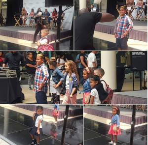 Barbizon Socal teen models walked the runway at the Montebello Mall Back To School Fashion Show