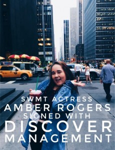 Barbizon Southwest alum Amber Rogers signed with Discover Management