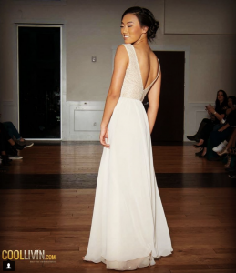 Barbizon Southwest alum Ansley Mater was selected to walk in all five nights of the Unique Week of Fashion