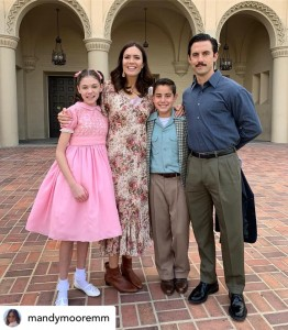 Barbizon Southwest alum Ava Castro plays the young Mandy Moore on NBC's This Is Us