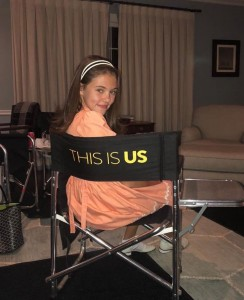 Barbizon Southwest alum Ava Castro plays the young Mandy Moore on NBC's This Is Us2