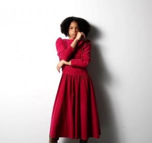 Barbizon Southwest alum Danshay Martinez modeled for Creative Director and Designer Hannah Jane