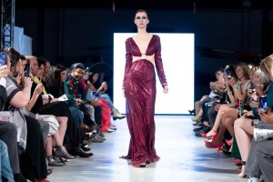 Barbizon Southwest alum Kelsey Pierson walked for Vanity Dollz and Gino Velardi at the Spring Denver Fashion Week Fashion Show