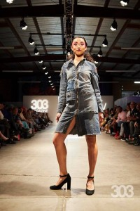 Barbizon Southwest alumni Ansley Mater, Maleah Marquez and Tea Anderson walked for Rebellelion in Denver Fashion Week1