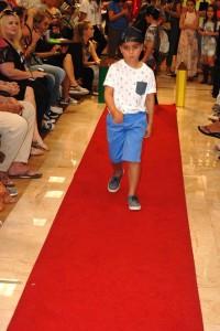 Barbizon Southwest alumni Ruby B., Scarlet C., Jonah B., Talia T., Noah H., and Alexandra B walked in the Dillard's Back to School Fashion Show2