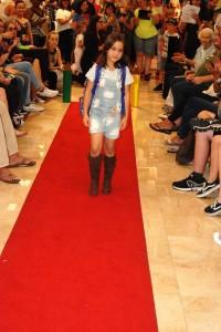 Barbizon Southwest alumni Ruby B., Scarlet C., Jonah B., Talia T., Noah H., and Alexandra B walked in the Dillard's Back to School Fashion Show3
