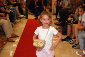 Barbizon Southwest alumni Ruby B., Scarlet C., Jonah B., Talia T., Noah H., and Alexandra B walked in the Dillard's Back to School Fashion Show4