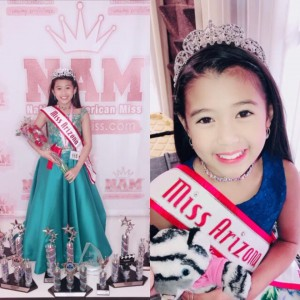 Barbizon Southwest grad Banessa competed in the National American Miss Pageant was receive the Talent Winner award and the Top Model Winner award