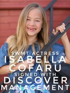 Barbizon Southwest grad Isabella Cofaru signed with Discover Management