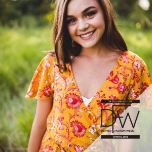 Barbizon Southwest model Alyssa L. was selected to walk in Night 5 of Denver Fashion Week Spring 2018 for designer Tyne Hall