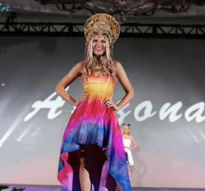 Barbizon Southwest model Amanda Reiley competed for Miss Teen Arizona