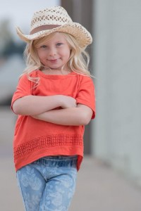 Barbizon Southwest model Ava F. has been selected to walk in the kids segment of Denver's Unique Week of Fashion