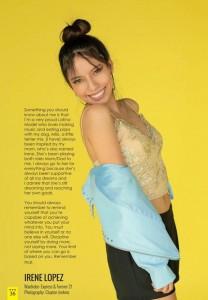 Barbizon Southwest model Irene Lopez modeled for Defined Magazine