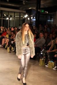 Barbizon Southwest model Kim Hanssen walked in Denver Fashion Week wearing Garbarini