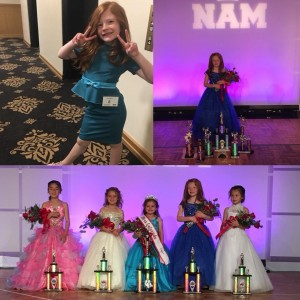 Barbizon Southwest model and actress Emily H. competed in the National American Miss Princess Pageant last weekend and won 2nd Runner Up