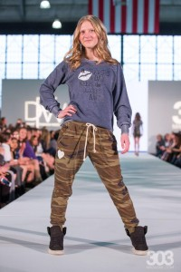 Barbizon Southwest models Allison, Brooklyn, Jenna and Kelcee walked in Denver Fashion Week in the kids segment3