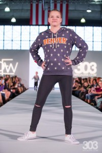 Barbizon Southwest models Allison, Brooklyn, Jenna and Kelcee walked in Denver Fashion Week in the kids segment4