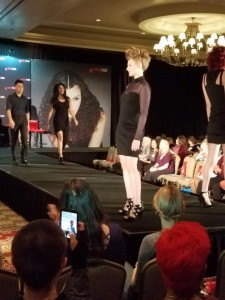 Barbizon Southwest models Brynn White and Gabe Medel were selected for a Sexy Hair Hair Show