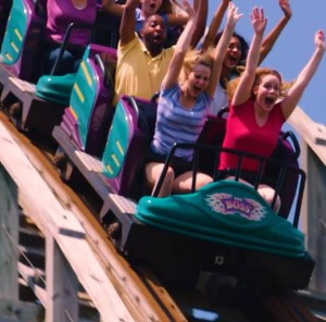 Barbizon St. Louis Talent booked Six Flags print and commercials