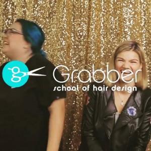 Barbizon St. Louis grad Medina booked a video for Grabber School of Hair Design