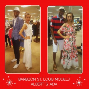 Barbizon St. Louis grads Albert & Ada showcased fashion trends at a Dillard's in-store event
