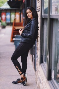 Barbizon St. Louis model and actress Radhika booked a print modeling job