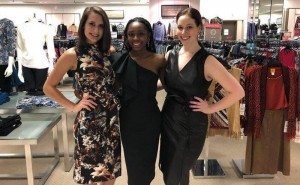 Barbizon St. Louis models worked at a charity fundraiser VIP night for St. Anthony's Behavioural Health at Dillard's