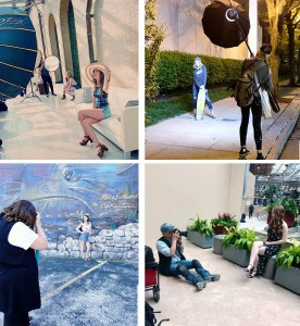 Barbizon St. Louis models worked with photographers during Shutterfest 2019