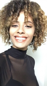 Barbizon TV graduate Darlenis booked the Intercoiffure Show in NYC for Keune
