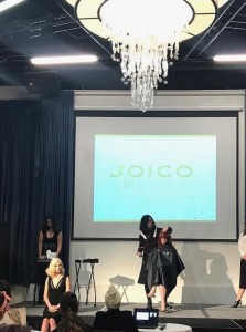 Barbizon TV graduate Jacqueline booked the Runway to Success beauty show for Joico