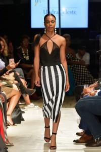 Barbizon TV graduates Jaime and Aileen walked for designer Undra Celeste at Harlem's Fashion Row1