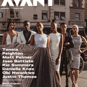 June 2020 cover of Avant Magazine featuring Dani Nicole